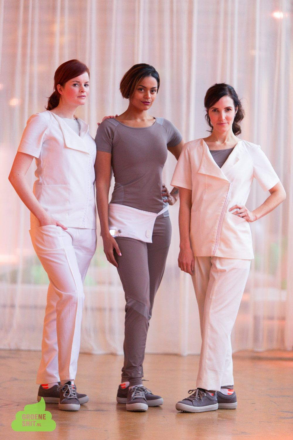 Sustainable and supportive garments for nurses